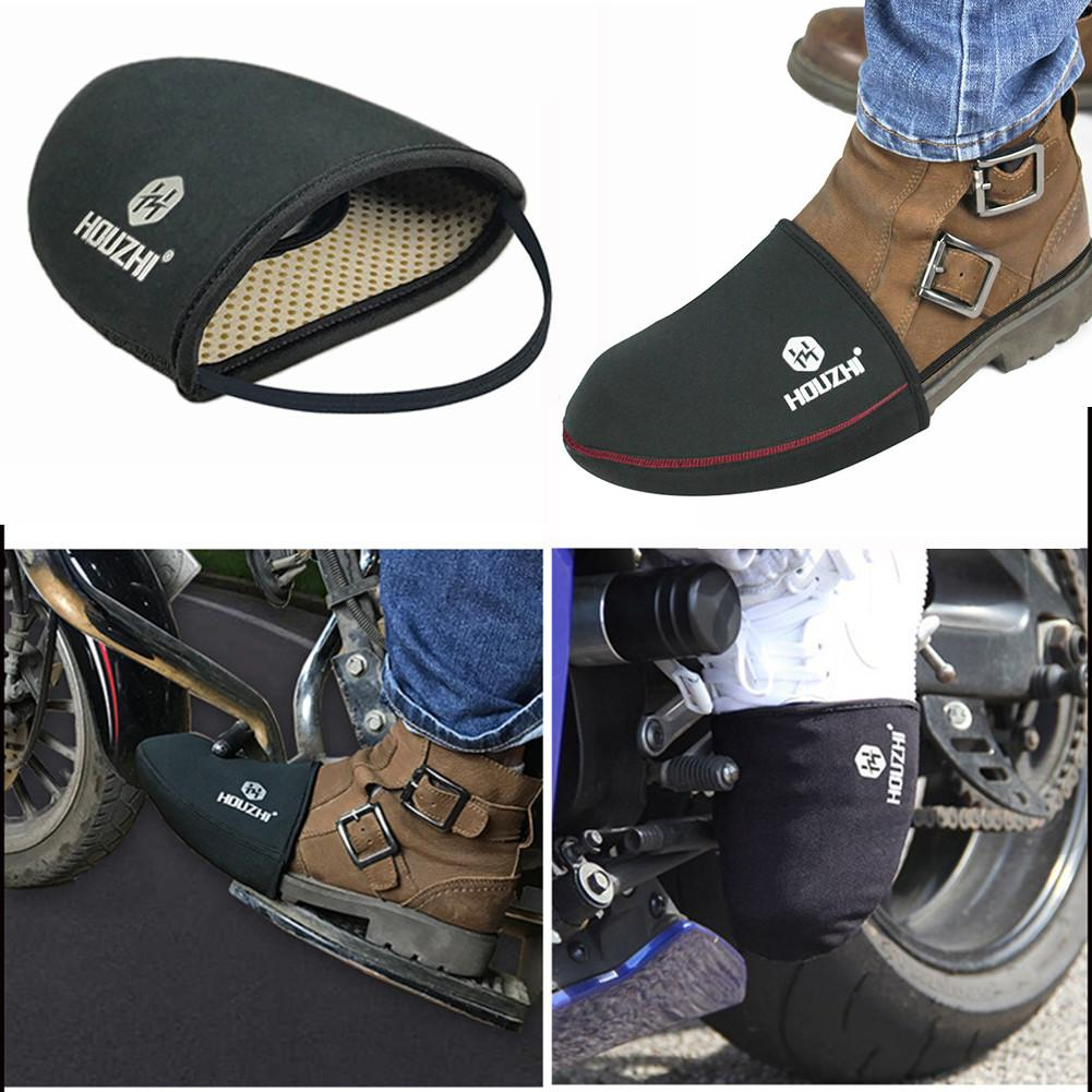 Motorcycle Shoes Protective Motorbike Gear Shifter Shoe Boot Cover Anti-slip Waterproof Motorcycle Gear Shifter Accessories