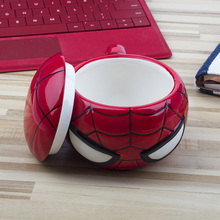 Amazing Mug Hand Built Pottery Spiderman Mugs Red Solo Cup 3D Mugs
