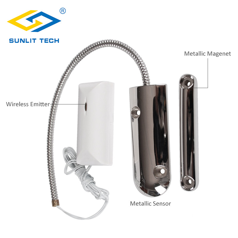 Wireless Rolltor Tor Sensor Alarm System Für Home Security 433 mhz Magnetische Schalter Tür Kontaktieren Sensor Detektor