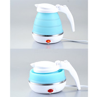 Portable Foldable Silicone Electric Kettle Boiled Water Teakettle Camping Water Kettle Foldable Electric Water Kettle