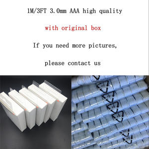 10 pcs/ 3.0mm AAA high quality USB Data Sync Charger Cable For ipad Air iPhone 7 6s 6 plus 5s For IOS10 with retail box