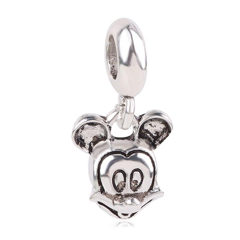 Новинка,,, бусинка из ленты, Микки Маус, сказка, Дамбо, любовь, шарм, подходит для Пандоры, браслет, ожерелье, сделай сам, женское ювелирное изделие, подарок - Цвет: K272
