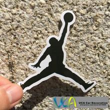 [Schwarz Air Jordan Mann] Auto Styling Wasserdicht Graffiti Doodle Pvc-aufkleber Hellaflush Fahrrad Laptop Skatboard Gepäck Aufkleber