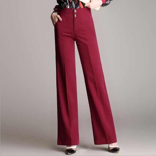 OL Style High Stretch Pants for Women High Waist Pencil Pants Work Wear Long Trousers Black White Gray Brown Plus Size S-5XL 6XL