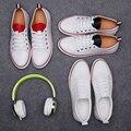 Simple es mejor estilo tb zapatos de Primavera y verano la tendencia de baja breve cordón plana zapatos zapatos de moda masculina del todo-fósforo
