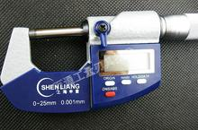 Sale 0-25MM Electronic Digital External Micrometer Caliper With Carbide Anvils