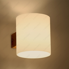 3W/5W LED Wall Sconce Light Fixture Glass Lamp E27 Bulb Bedroom Hotel Store Cafe Warm White