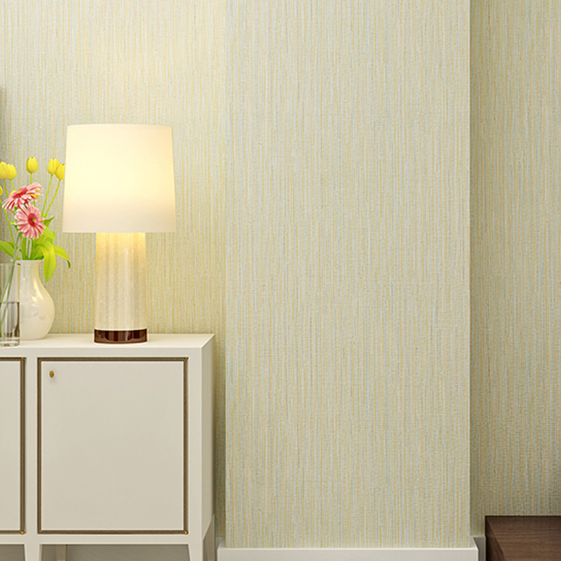 9.5M Non-woven Fabric Wallpaper Grass Cloth Wall Paper Embossed Touch Textured for Bedroom Living Room Sofa Backdrop WP16075 10m minimalist non woven fabric embossed wallpaper vintage style living room sofa wall decor design wall paper roll wp16065