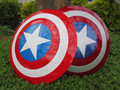 free shipping The Avengers 2 Captain America Shield 1:1 1/1 Cosplay captain america Steve Rogers ABS model adult shield replica