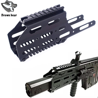 with 20mm Top Picatinny rail scope Mount Sight Drop In Free Float handguard for Tactical Hunting Airsoft LeHui KRISS VECTOR V2