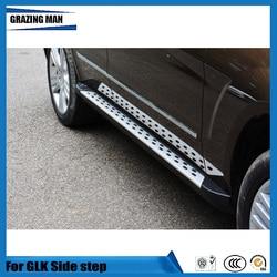 Hoge kwaliteit aluminium legering originele fabriek drempels side step treeplank voor GLK 2009-2015