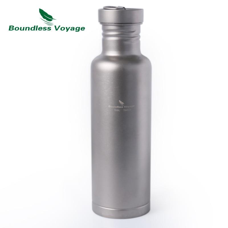 Boundless Voyage τιτανίου μπουκάλι νερό με - Αθλητικά είδη και αξεσουάρ - Φωτογραφία 1