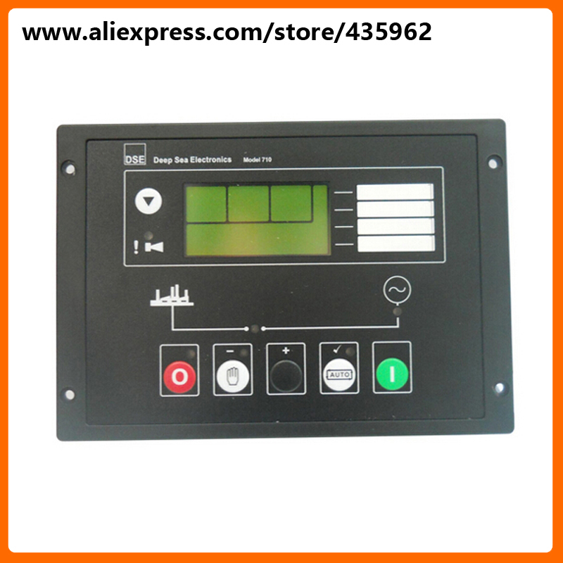 DSE710 Generator Controller for Diesel Generator Set deep see control high quality spare part free shipping deep sea generator set controller module p5110 generator control panel replace dse5110