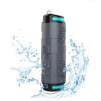 10W 5200mAh Outdoor Waterproof Bluetooth Speaker Wireless Portable Bike Column Box Loudspeaker Speaker Big Power With