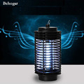 Behogar Electronic Mosquito Killer Lamp Pest Control Insect Bug Zapper Fly Pest Control Repellent Light LED Pest Traps Light