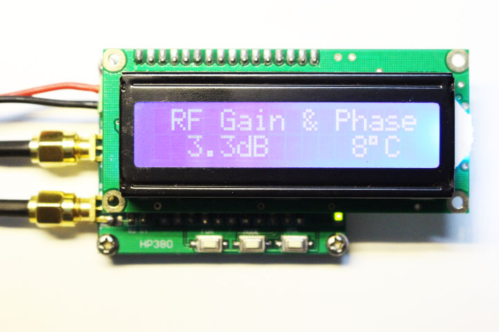 RF gain and phase detector Gain and Phase Detector RF/IF 0-2700
