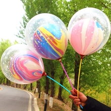 5pcs Two Layer Stars Ballons Wedding Balloon Happy Birthday Baby Shower Decor Kids Party Supplies DROP SHIPPING OK