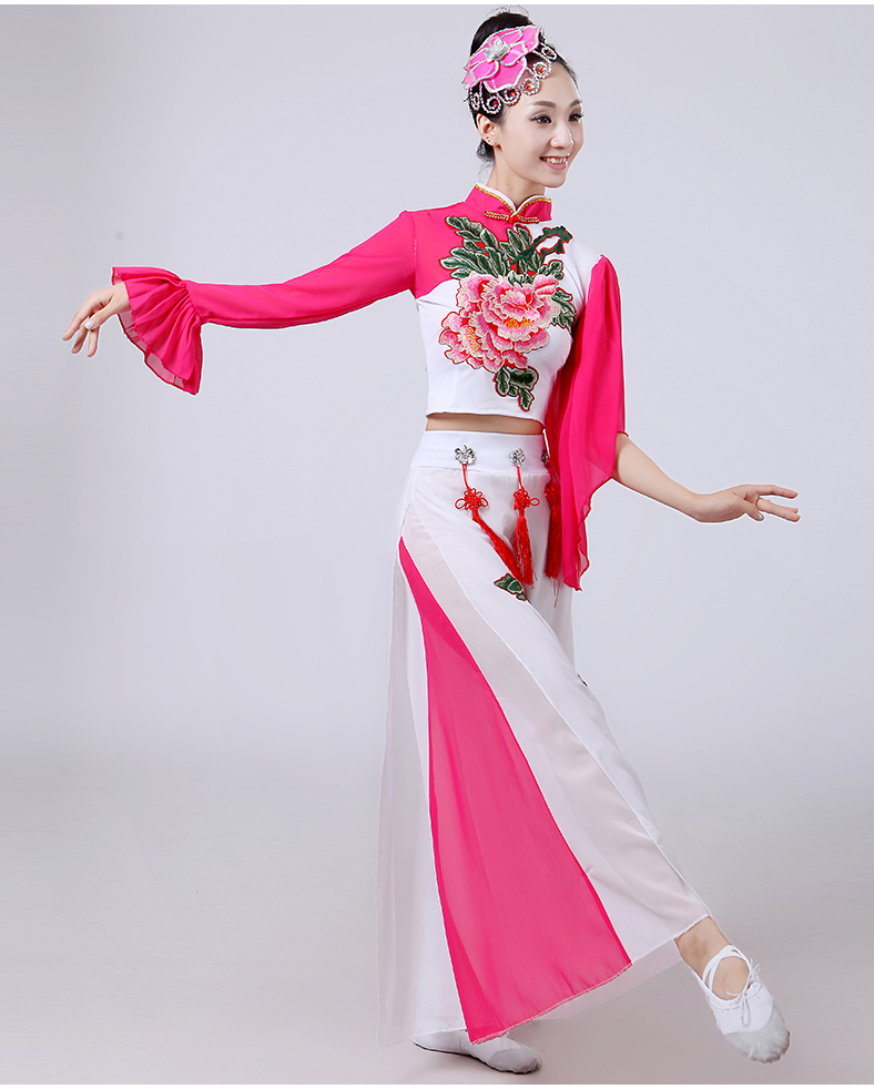 embroidery peony Ancient chinese costume Dance costume Traditional ... 69e7df82a