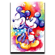 Diamond Paint Cross Stitch Embroidery Square Cartoon Anime Square & Round Diamond Mosaic Image Full Diamond painting Disney(China)