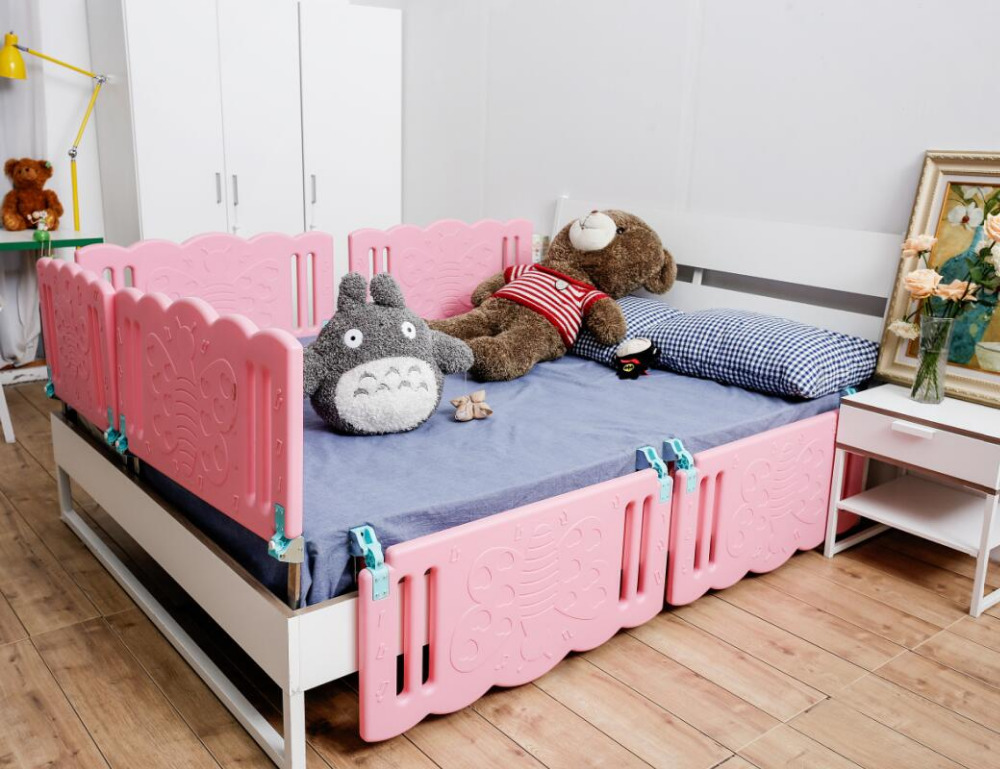 Baby S Crib Rail Security Sleep Bed Rail For Children 150cm 200cm