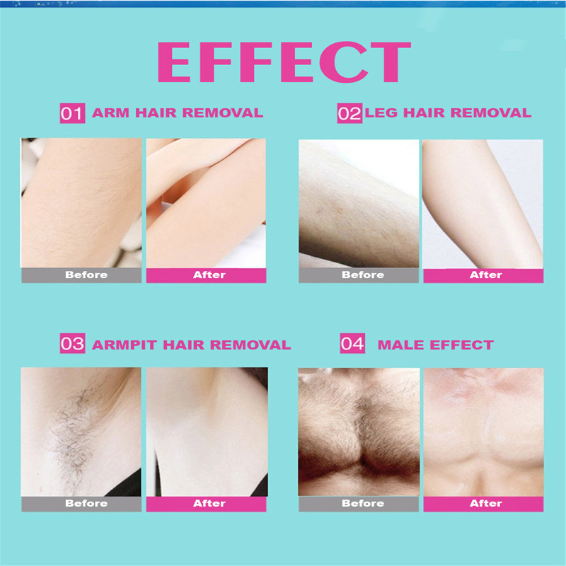 40Pcs Set Depilatory Cartine Wax Strips For Hair Removal Wax Paper Cold Wax Strips Paper For Face Neck Arm Leg Body Beauty Tools in Hair Removal Cream from Beauty Health