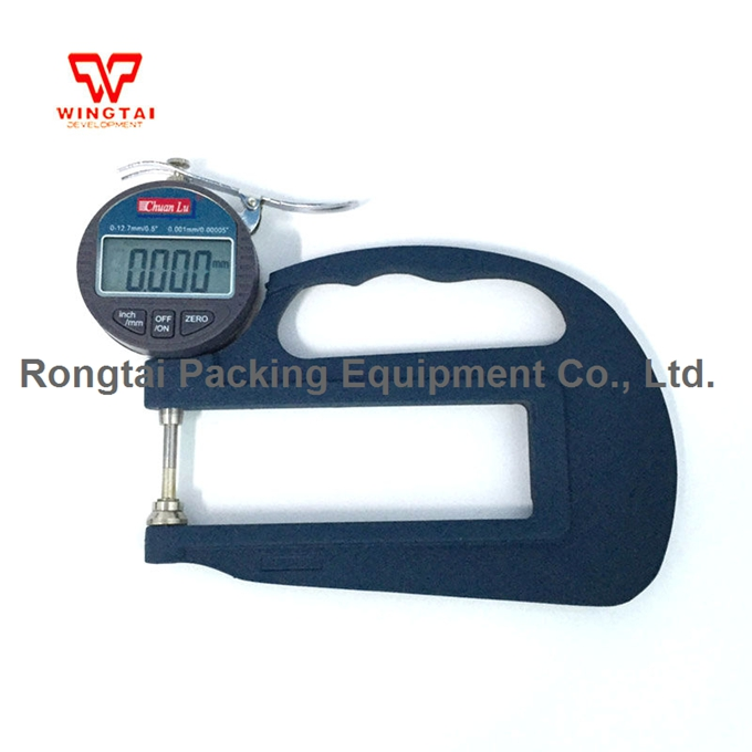 0-10mm BY03 Electronic Micrometer Digital Thickness Meter Gauge For Paper,Leather,Plastic Film Thickness Measuring Tool new high precision digital micrometer precision thickness gauge 0 12 7mm 0 001mm paper film fabric tape thickness measurement
