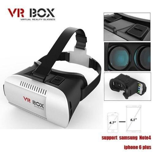 cbe7dc28ccda VR Box Google Cardboard Head Mount Oculus Rift 3D Games Headset Plastic VR  Virtual Reality 3D Glasses for 4.7~6 smartphone