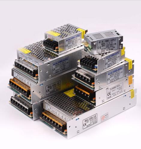 3 года гарантии DC12V 1A -30A Трансформаторы освещения Светодиодный драйвер адаптер питания Светодиодные полосы переключатель питания
