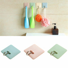 1Pcs Wall Key Hanger Strong Suction Cup Hook For Kitchenware Bathroom Simple Nordic Style Hooks Home Decoration