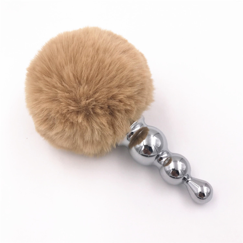 Mini Butt Plug Stainless Steel Anal Plug Cute Tail Anus -7184
