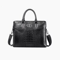 2017 New Hot Famous Brand Genuine Leather Men Bag Men Fashion Shoulder Bags Men S Briefcase