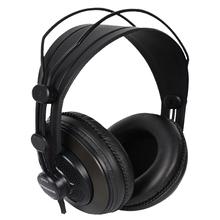 Original Samson SR850 überwachung HIFI headset Semi-Öffnen-Zurück Kopfhörer für Studio mit leder hörmuschel ohne einzelhandel box cheap Dynamische Nein Verdrahtet 98dBdB Kein Keine 2 5mm Hifi Kopfhörer Linie Typ 3 5mm 32ΩΩ Supports music