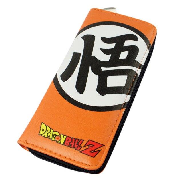 Dragon Ball Z Saiyan Son Gokou Long Wallet Purse