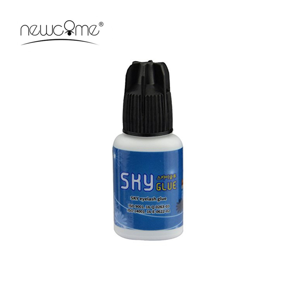 NEWCOME S Sky Glue Most Powerful Korea Glue For Volume Individual Eyelash Extensions MSDS Adhesive Eyelashes Building