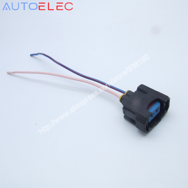 100X 2P Adapters Acura OBD2 Fuel Injector Connector font b wiring b font font b harness compare prices on rsx wiring harness online shopping buy low wiring harness pieces at suagrazia.org
