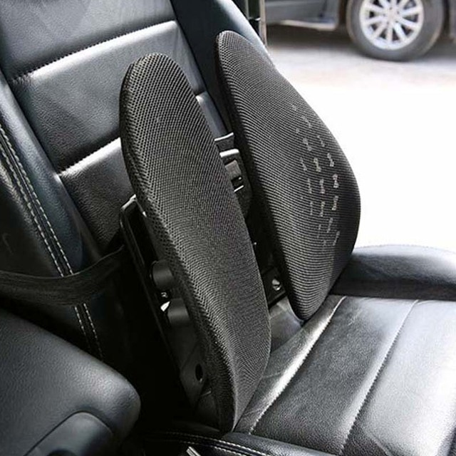 Car Seat Lumbar Support Universal Ventilative Waist Cushion For Office Home Interior Accessories