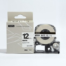 5PK смешивать цвета совместимая kingjim 12 мм лента для маркировки SS12KW ST12KW SC12RW SC12BW SC12YW labelworks LW300/LW400