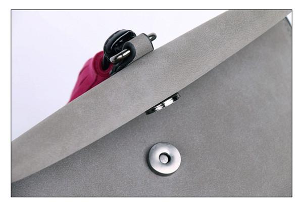 EXCELSIOR Women's Bag Scrub PU Crossbody Bags Luxury Handbags Women Bags Designer bolso mujer Colorful Strap sac a main femme 7