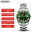 100% Original SEIKO 5 10 Bar Resistente À Água Relógio dos homens Mecânico Automático relógio Do Esporte SRPB94/91/89 /Aço Inoxidável 93J1