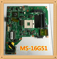 Laptop motherboard para msi ms-16g51 ge620 ge620dx mainboard intel ddr3100 % teste ok