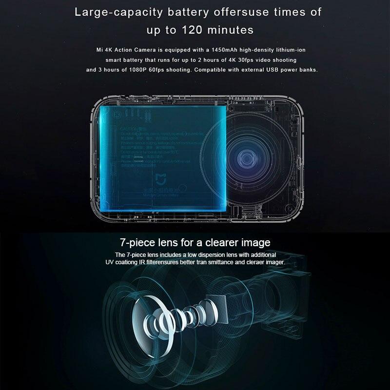 International version Xiaomi Mi Mijia Action camera 4K