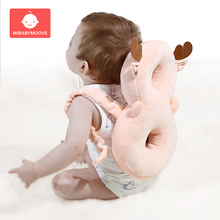 Cute Baby Head Protection Pad Pillow Soft Toddler Headrest Child Back Safety Protector Cushion Nursing Drop Resistance