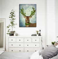 Cartoon Deer Head En Iyi Satin Al