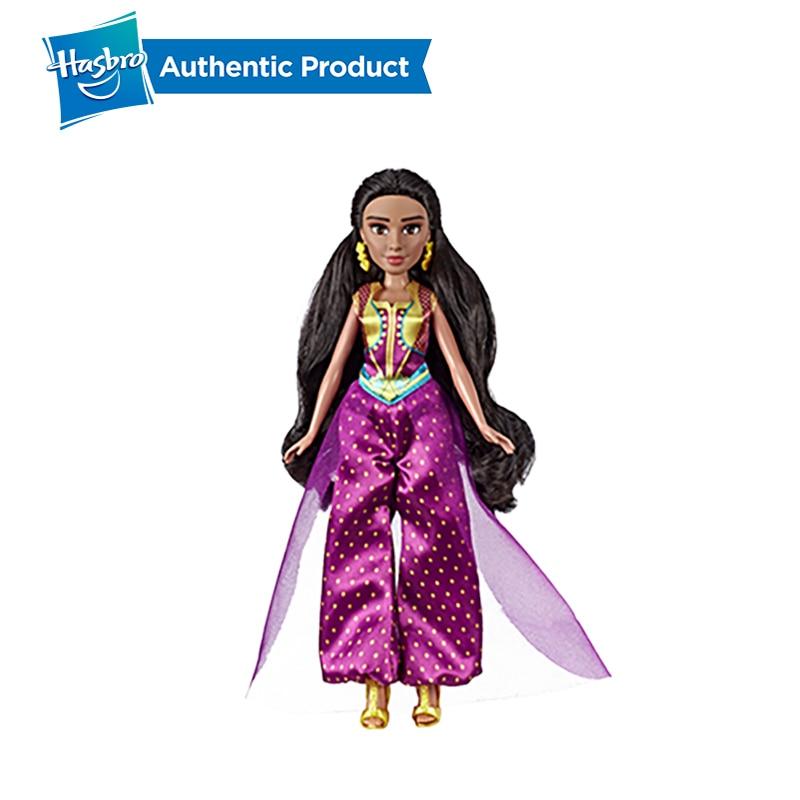 Image 4 - Hasbro Disney Aladdin Glamorous Jasmine Deluxe Fashion Doll Jasmine Doll Aladdin Movie Gift For Kids 3 Years Old-in Dolls from Toys & Hobbies
