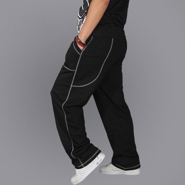 Marca informal al aire libre masculino masculino hombres de hip hop danza harem corredores de Pista Holgados Pantalones Flojos Más El Tamaño XXXL 10
