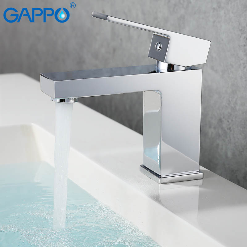 GAPPO Basin faucet basin mixer tap bathroom faucet brass water sink mixer faucet bathroom waterfall faucet free shipping brass copper basin faucet basin mixer bamboo faucet bathroom tap