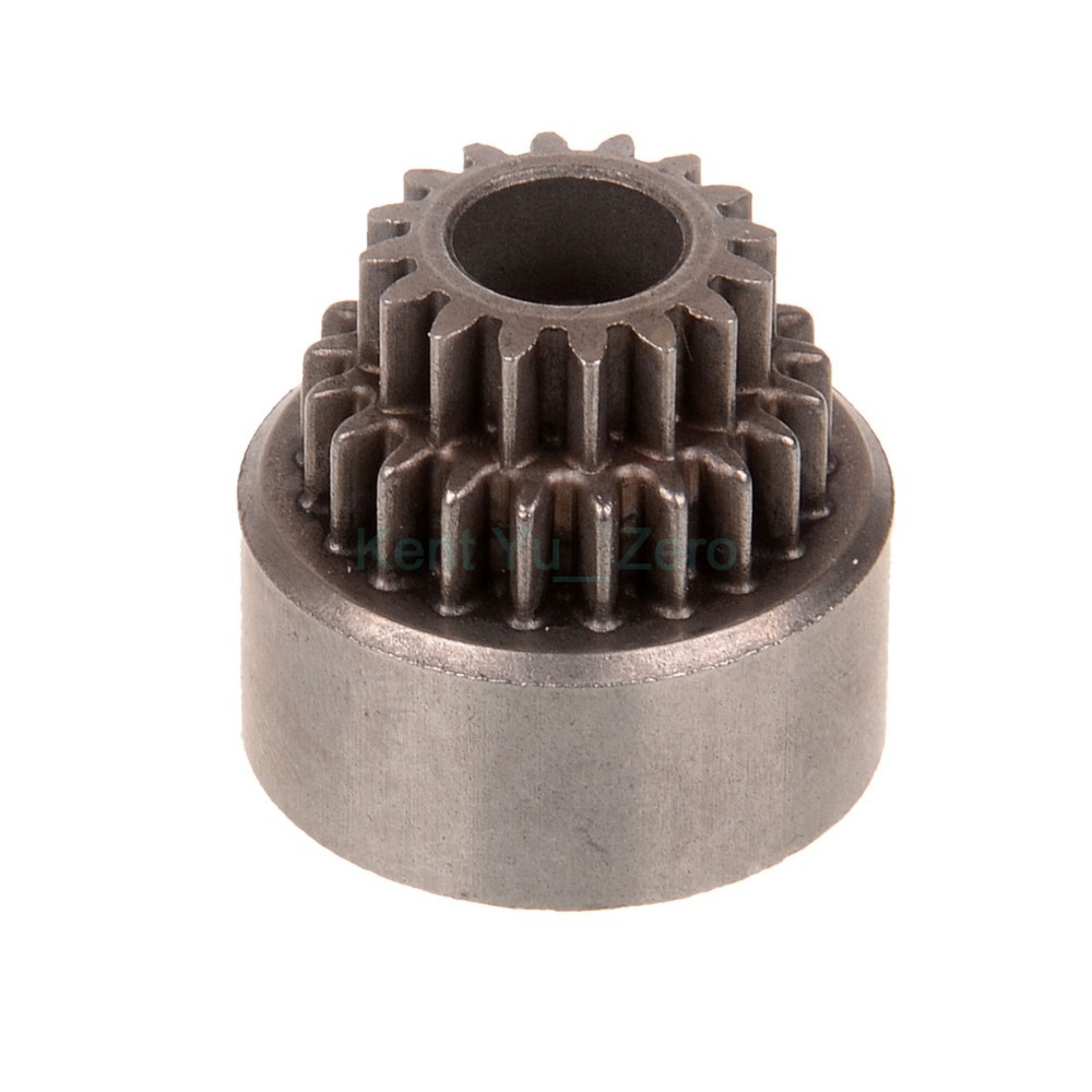 02023 Clutch Bell(Double Gears) Spare Parts For HSP 1/10 R/C Model Car, For a variety of HSP models