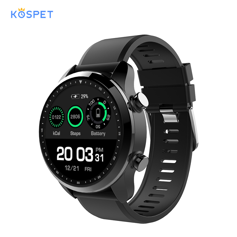 Kospet Brave 4G LTE Smart Watch blood pressure Phone Android 6 02GB 16GB GPS mens watches