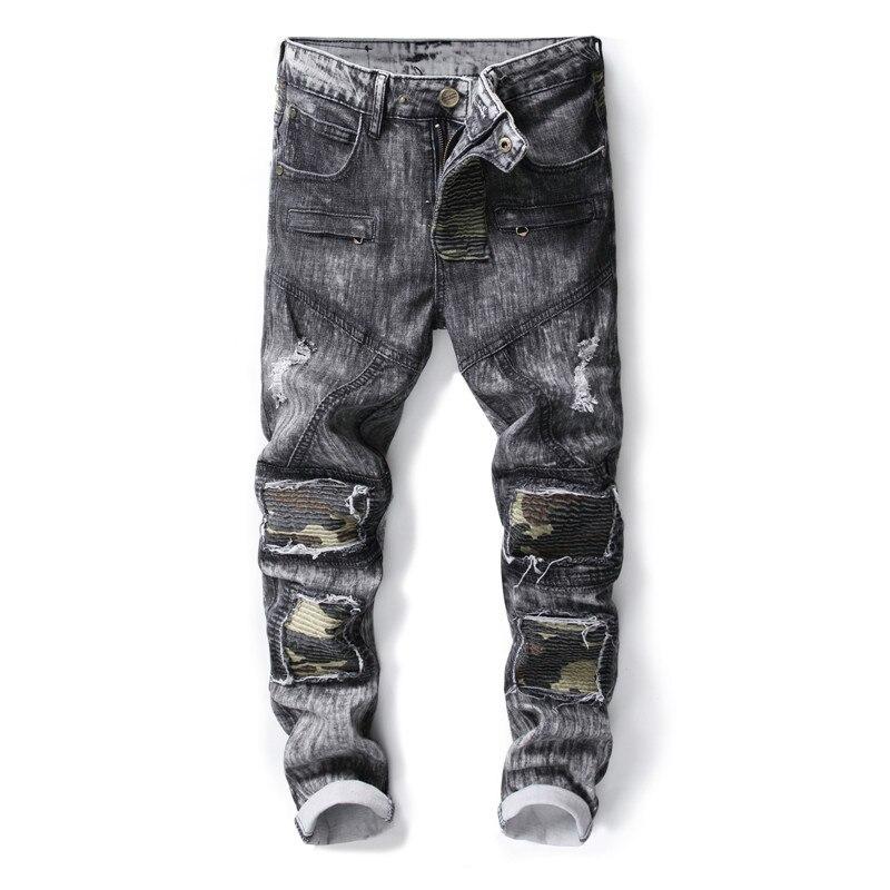 0bb33ecb036 2019 2018 New Brand Fashion Designer Men'S Skinny Jeans Male Casual ...