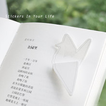 4 pcs Folding art memo pads and sticky notes Paper crane envelope post it Scrapbooking stickers Office School supplies FM747